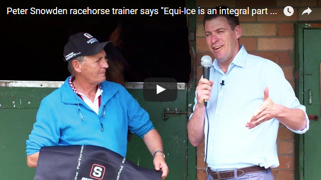 equine performance recovery what Peter Snowden said